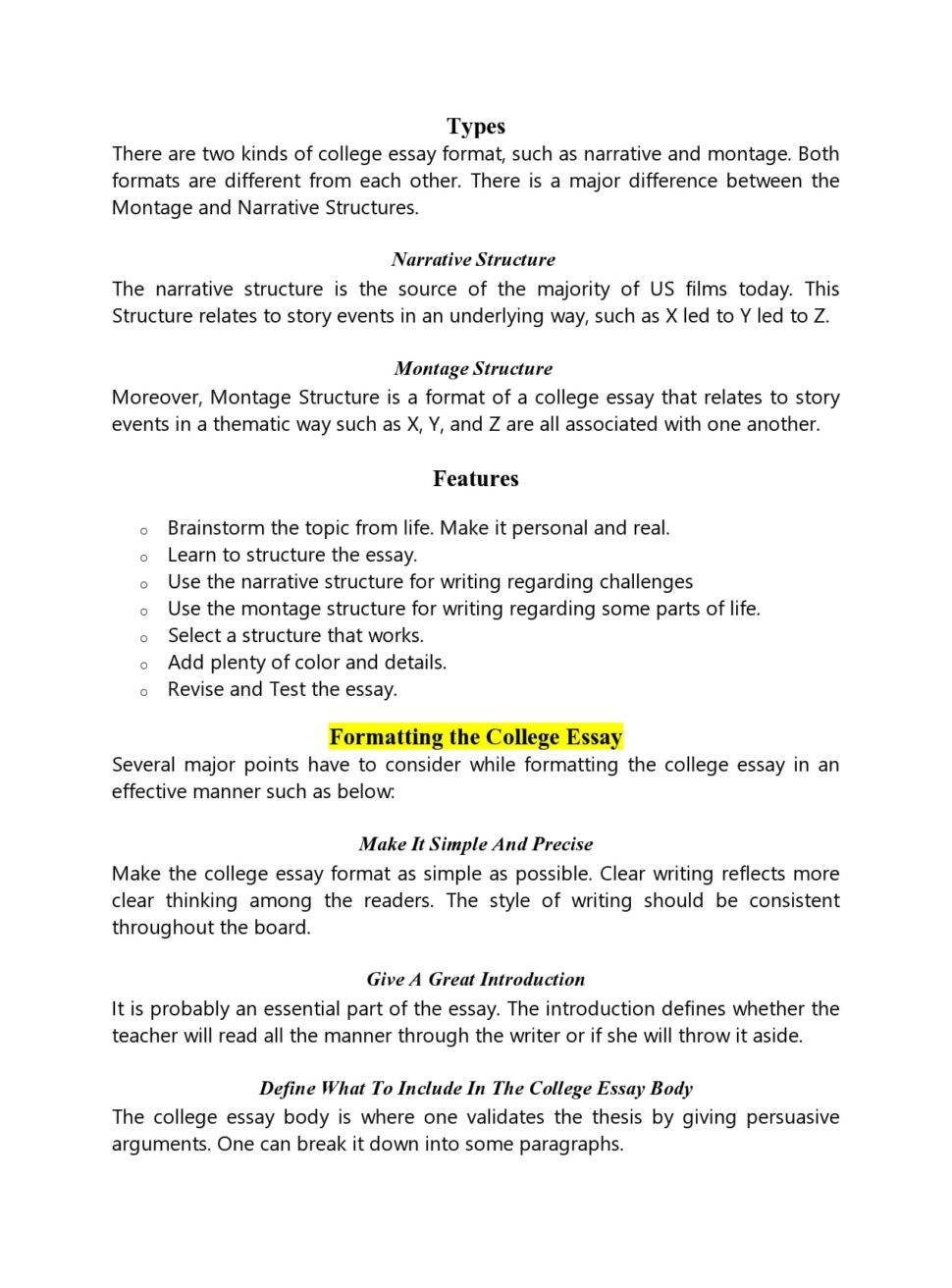 Large Size of College Essay Format Templates Examples Templatearchive For Example Of Speech Word Pay