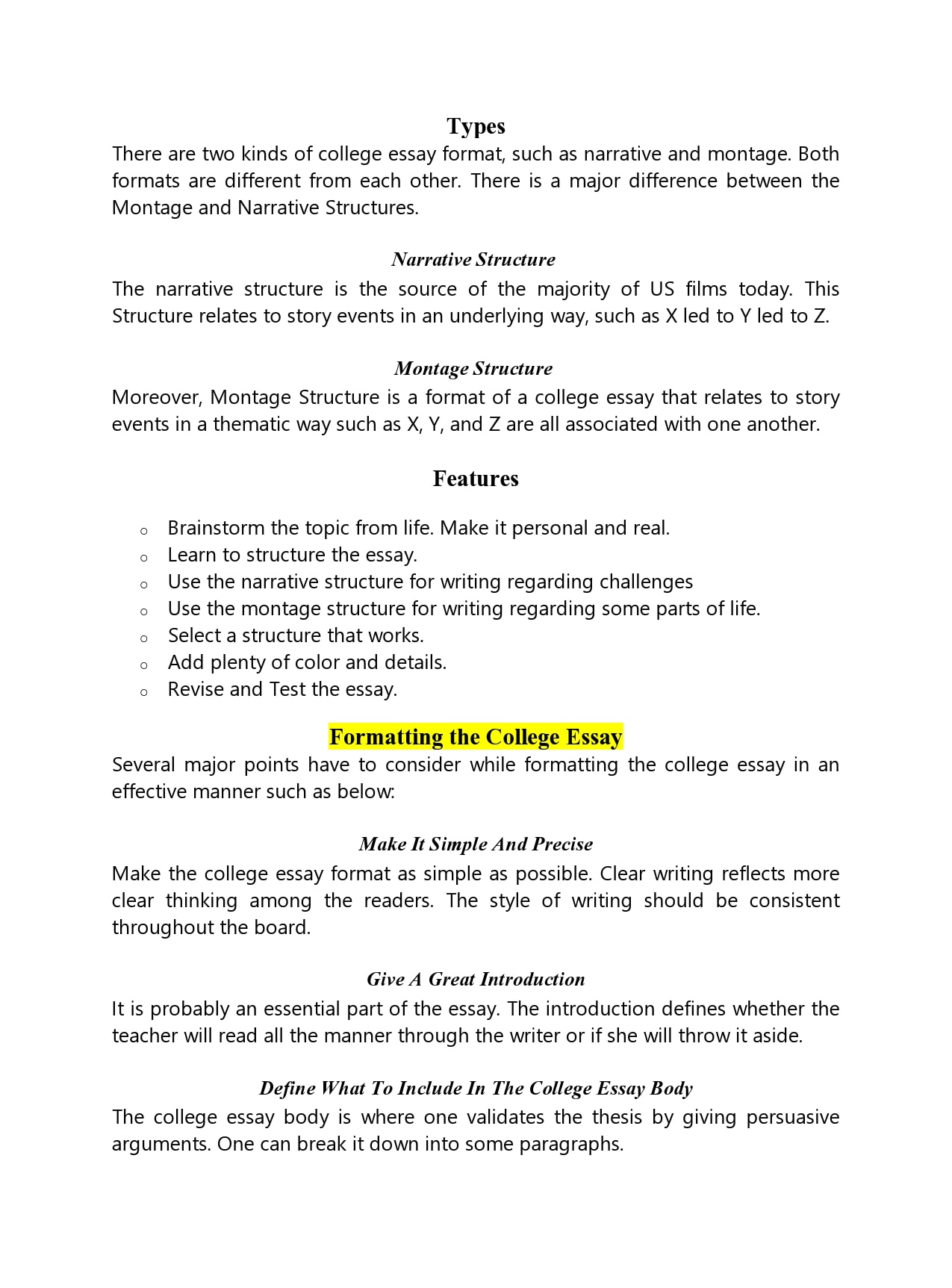 Full Size of College Essay Format Templates Examples Templatearchive For Example Of Speech Word Pay