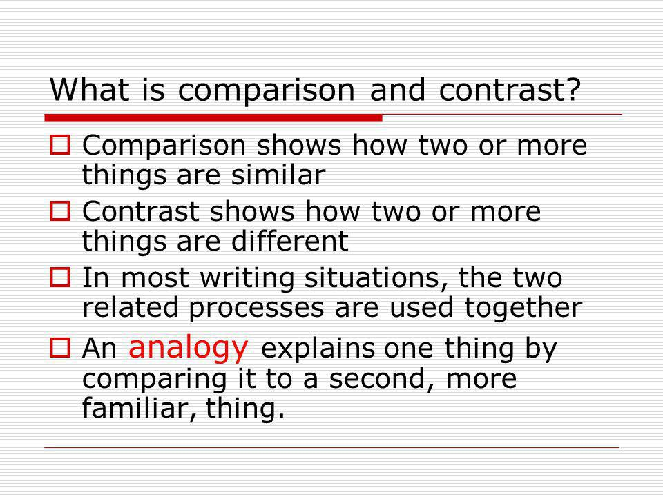 Full Size of Comparison And Contrast Writing Is Word Essay Mit Literary Evaluation Example Do My