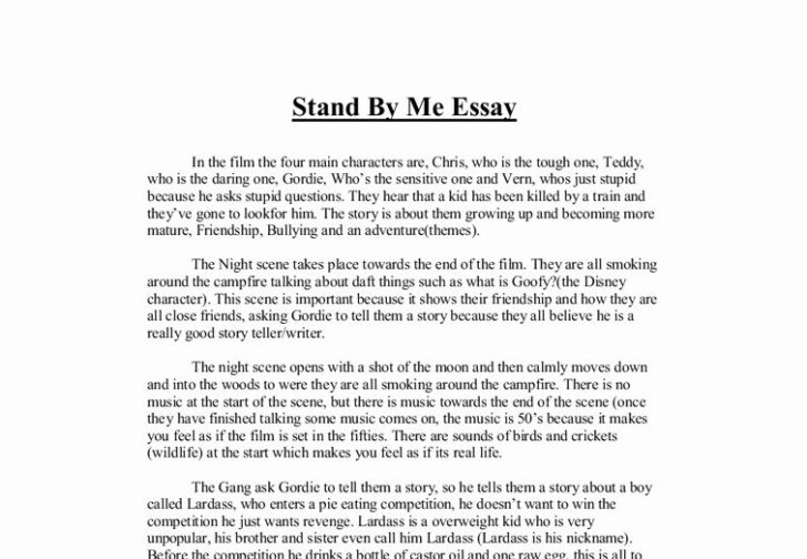 About Me Essay College