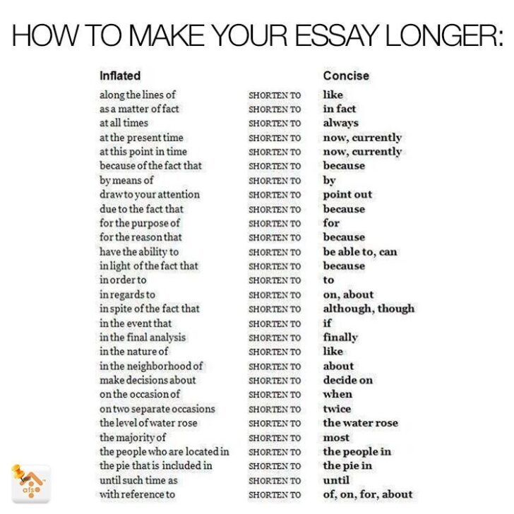 Word Replacements To Make Your Essay Longer