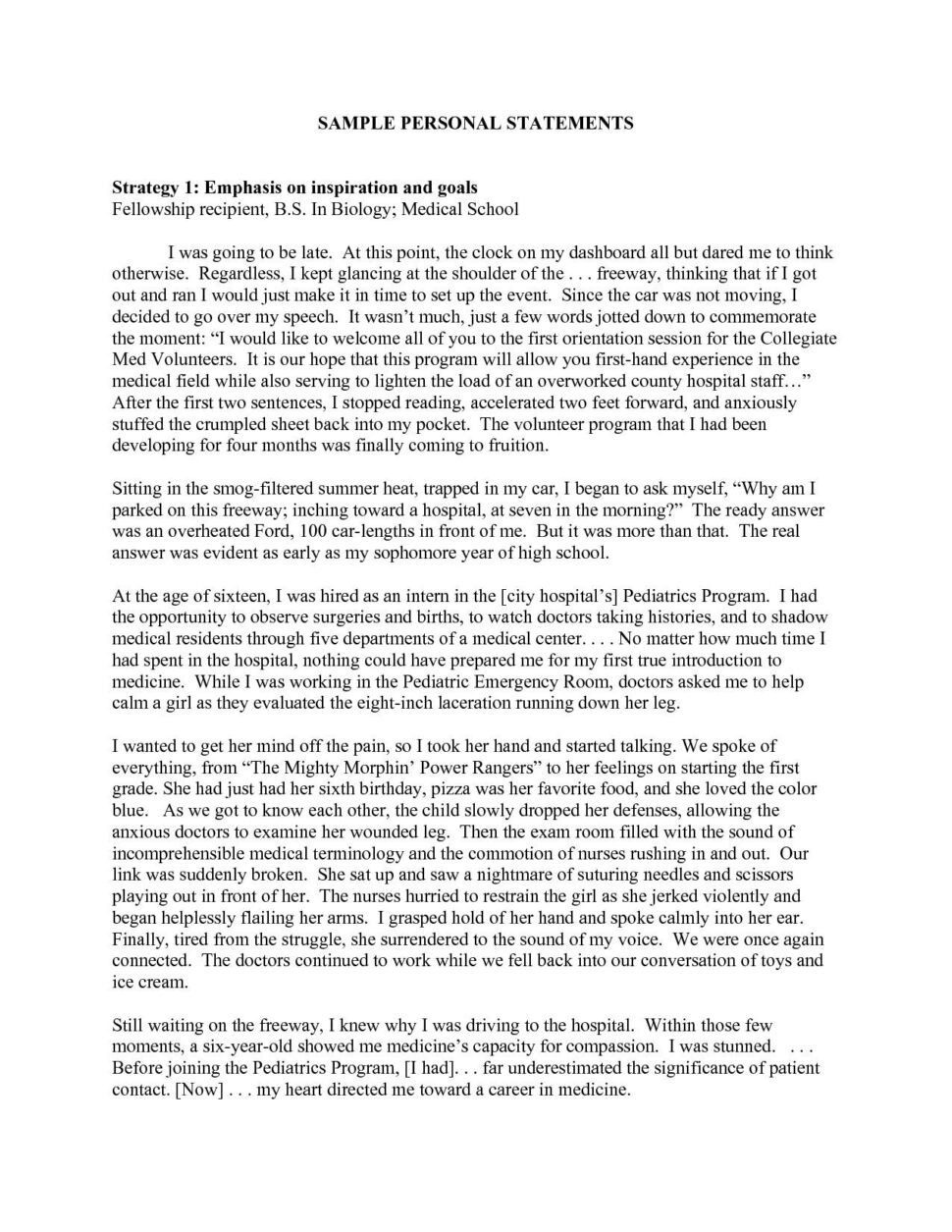 Large Size of Diversity Essay Med School Example