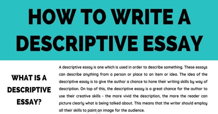 Medium Size of Descriptive Essay Definition Examples Tips For Writing 7esl To Write Website Free