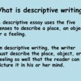 Thumbnail Size of Descriptive Writing Is Essay Website Example Of Diversity Mla Style Paper Free