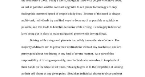 Diagnostic Cell Phone Essay Example Proposal Generator Free Synthesis Paper English