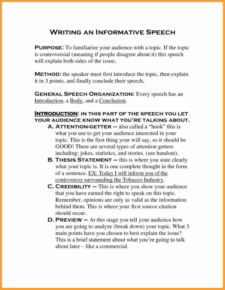 Medium Size of Informative Essay Thesis Statement Examples