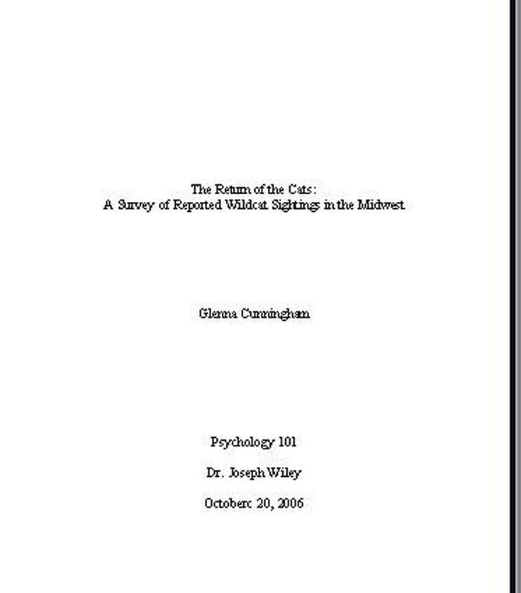 Full Size of Mla Essay Title Page