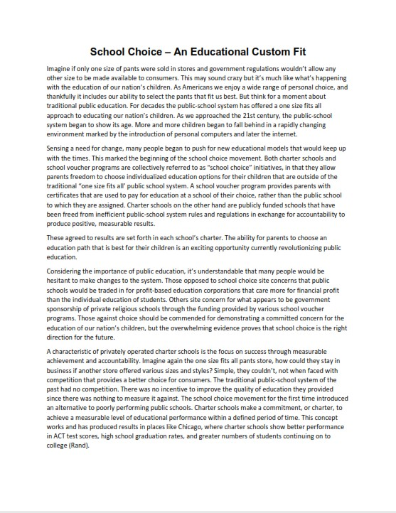 Full Size of Easy Argumentative Essay Examples For Students Example High School Process Analysis This