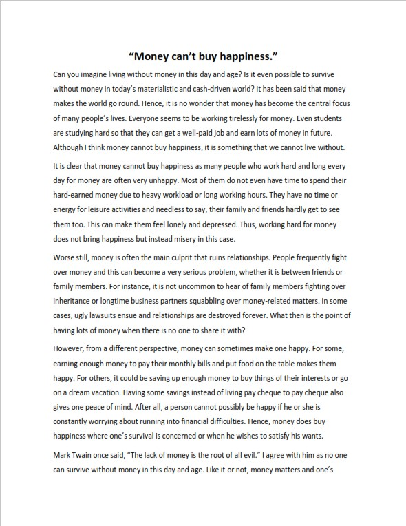 Full Size of Easy Argumentative Essay Examples For Students Level Hook Concerning Human Understanding