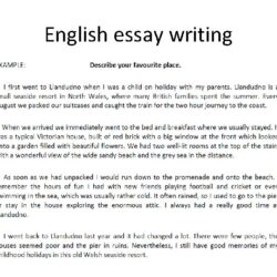 English Essay Writing General Image Outline Example For Introduce Yourself Diversity