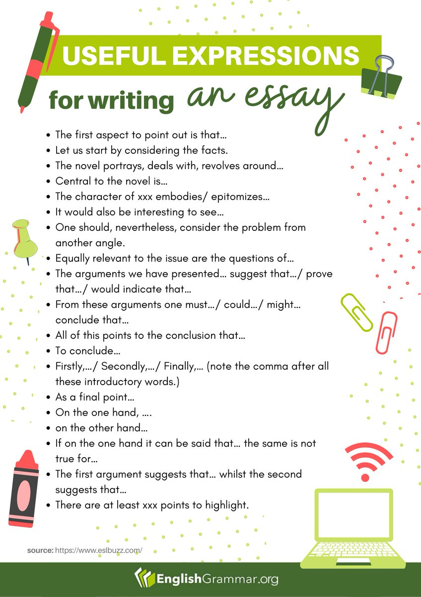 Full Size of English Grammar On Essay Writing Useful Expressions Et1hv1txiaafebl Personal Narrative