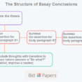 Thumbnail Size of Essay Outline Template Analytical Paragraph Blank Conclusion