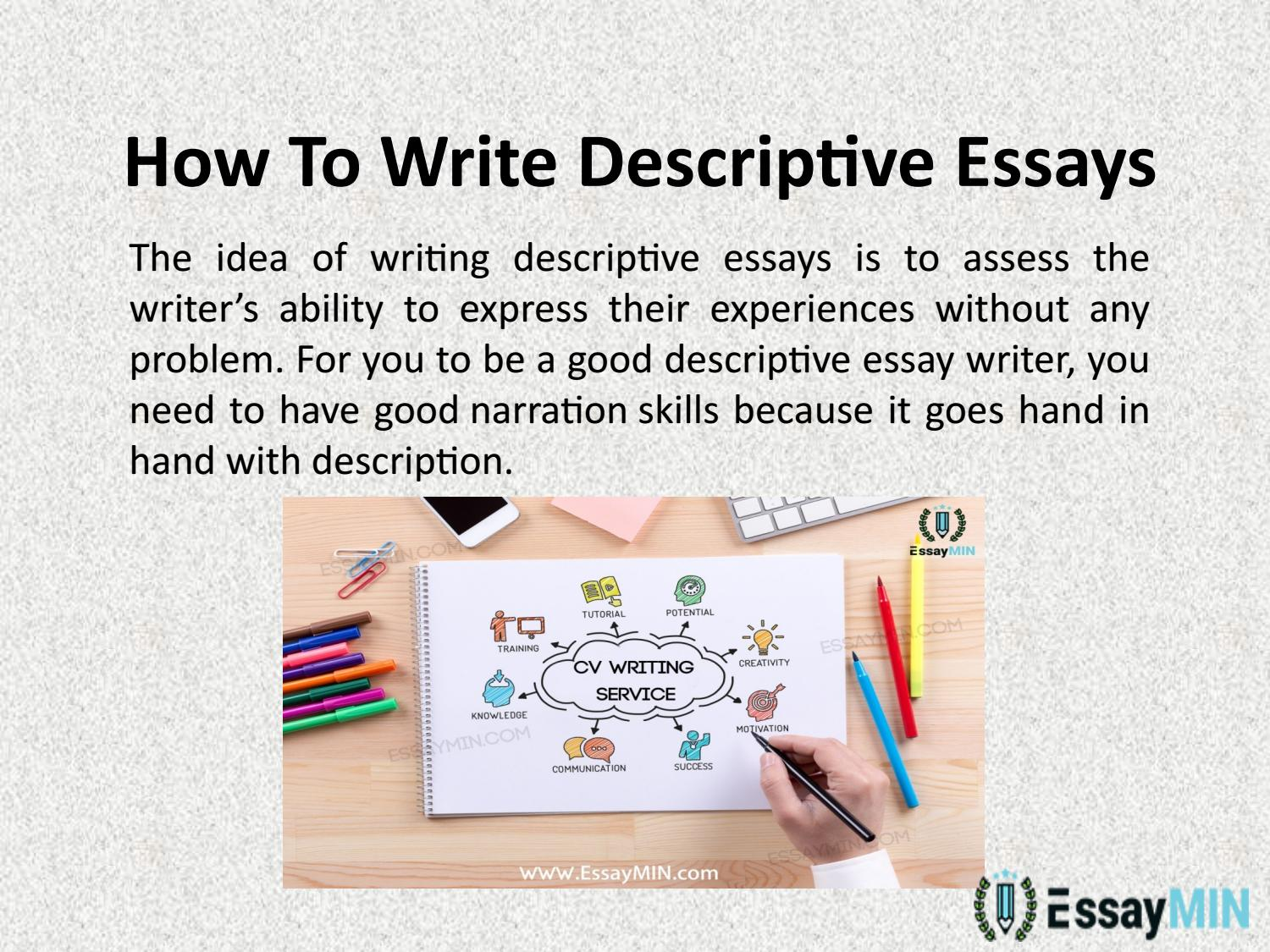 Full Size of Essaymin Is One Of The Best Writing Service Providers For Descriptive Essay Topics By