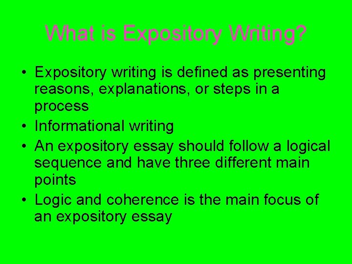 Full Size of Expository Writing The And Of Image Essay Format Mla Biographical Read My Persuasive