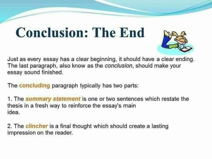 The Parts Of An Informative Essay Are Introduction