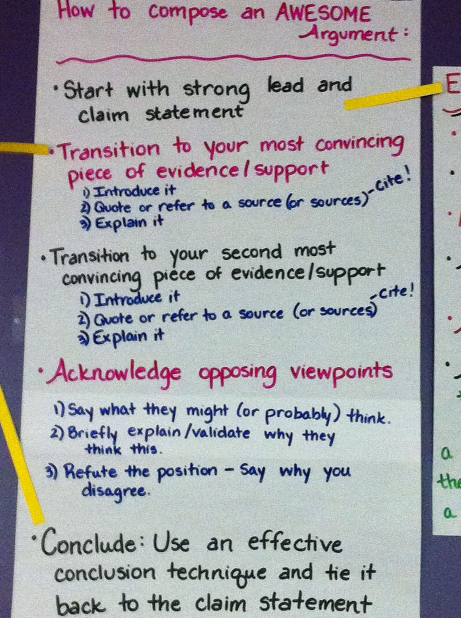 Full Size of Elements Of An Argumentative Essay In Order