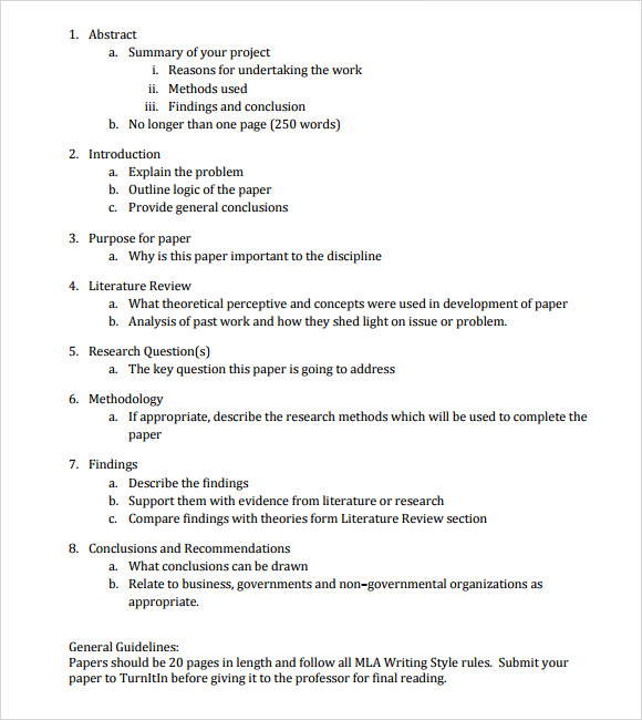 Full Size of Free Paper Outline Samples In Pdf Ms Word Template College Personal Narrative Essay