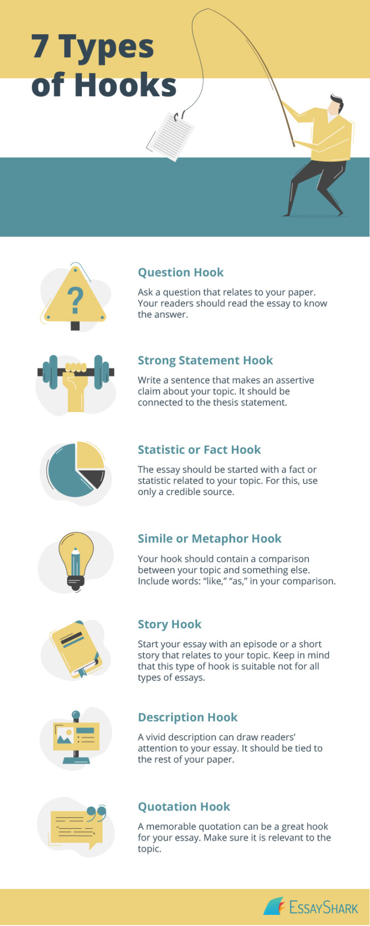 Hooks For Essays Guide Check Out To Write Hook Easily Blog Essayshark Essay Examples