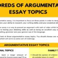 Thumbnail Size of Hundreds Of Argumentative Essay Topics For Any Assignment 7esl Topic An Essays That