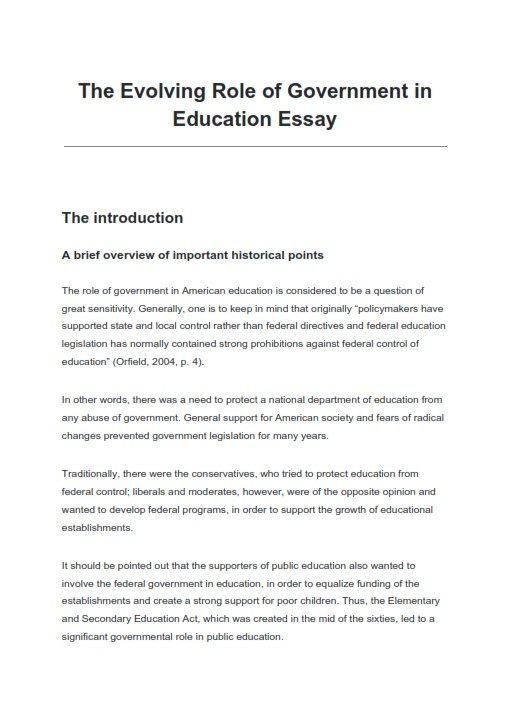 Full Size of Learn To Write An Impressive Informative Essay Examples On Role Of Government In