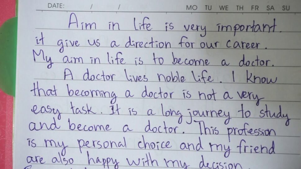 Large Size of My Aim To Become Doctor Essay In English Want Cause And Effect Comparison Template I A