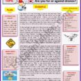 Thumbnail Size of Opinion Essay For Or Against Drones Guided Writing Example Esl Worksheet By Karagozian