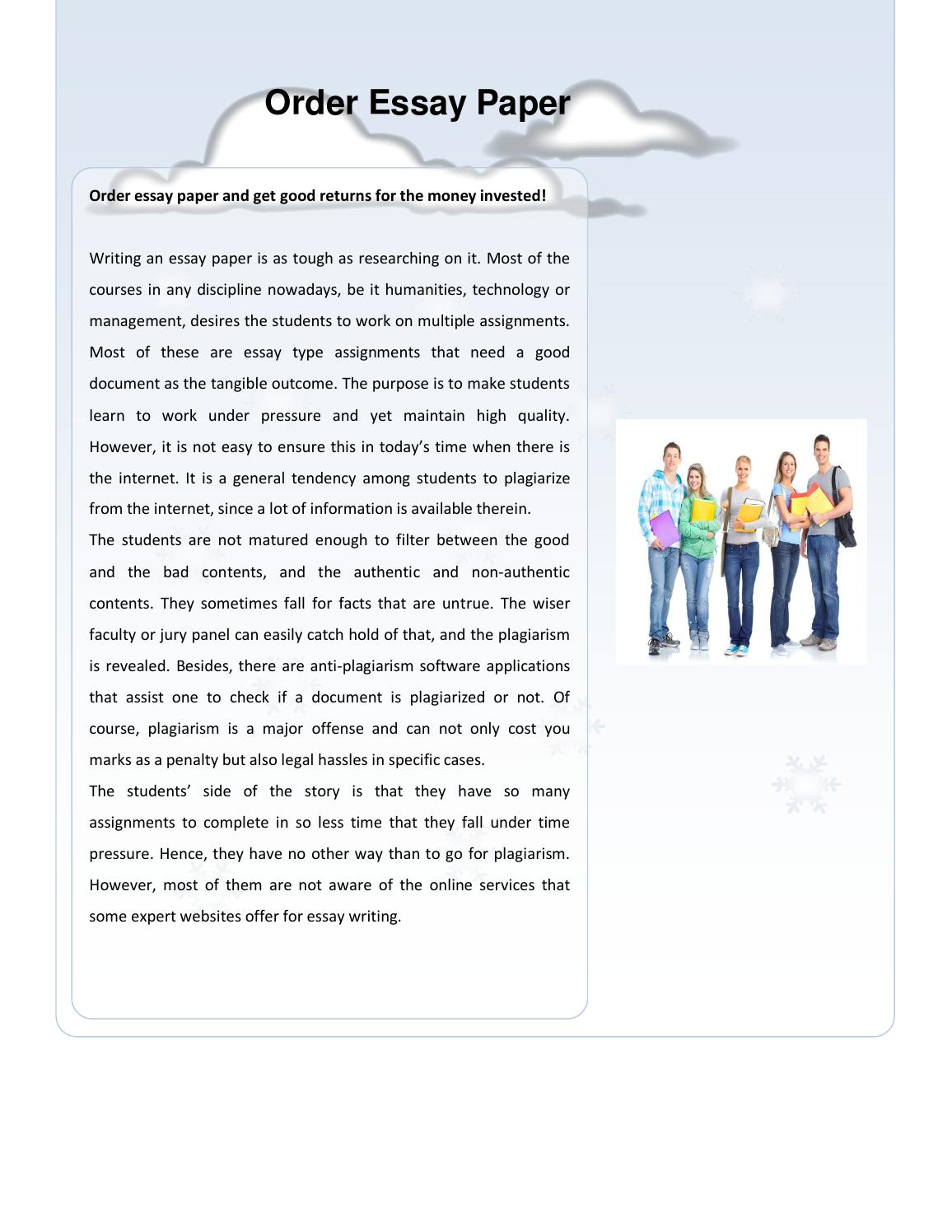 Full Size of Order Essay Paper By Assignment Issuu Reflection Template Rhetorical Analysis Thesis