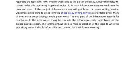 Outline Summary Of Informative Essay Example Speech Women Education Reflective Writing