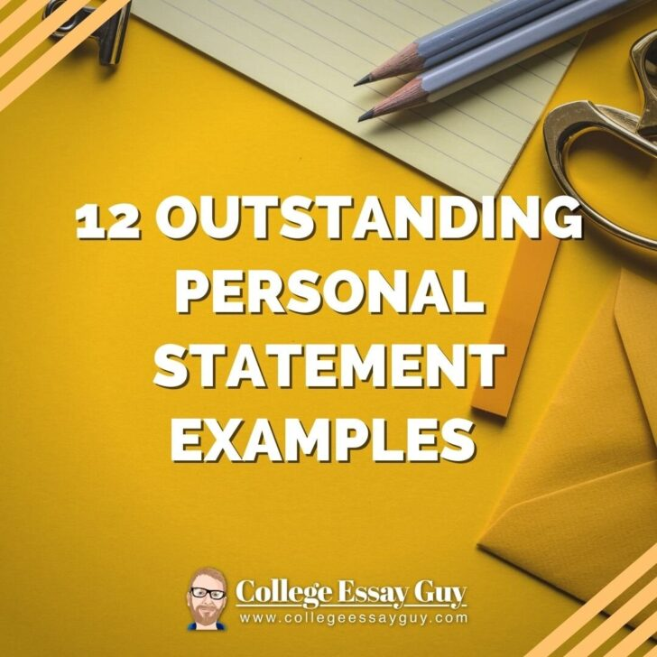Outstanding Personal Statement Examples And They Work Elephant Essay Words Writing Help