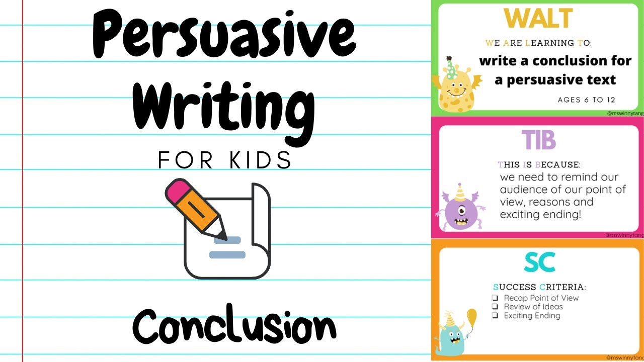 Full Size of Persuasive Writing For Kids Conclusion Informative Essay Introduction Format Template