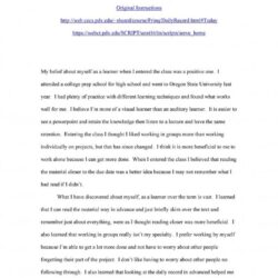 Reflective Essay Example In Examples Reflection Extended Want To Become Doctor Music On
