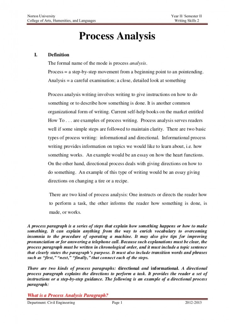 Full Size of Summary And Response Essay Example Processanalysisassignment Phpapp02 Thumbnail 728x1031