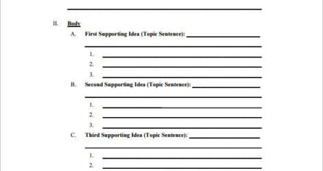 Template Analytical Research Paper Good Essay Word
