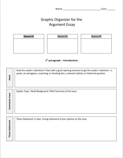 Full Size of Template Basic Outline Critical Essay Research Paper Argumentative