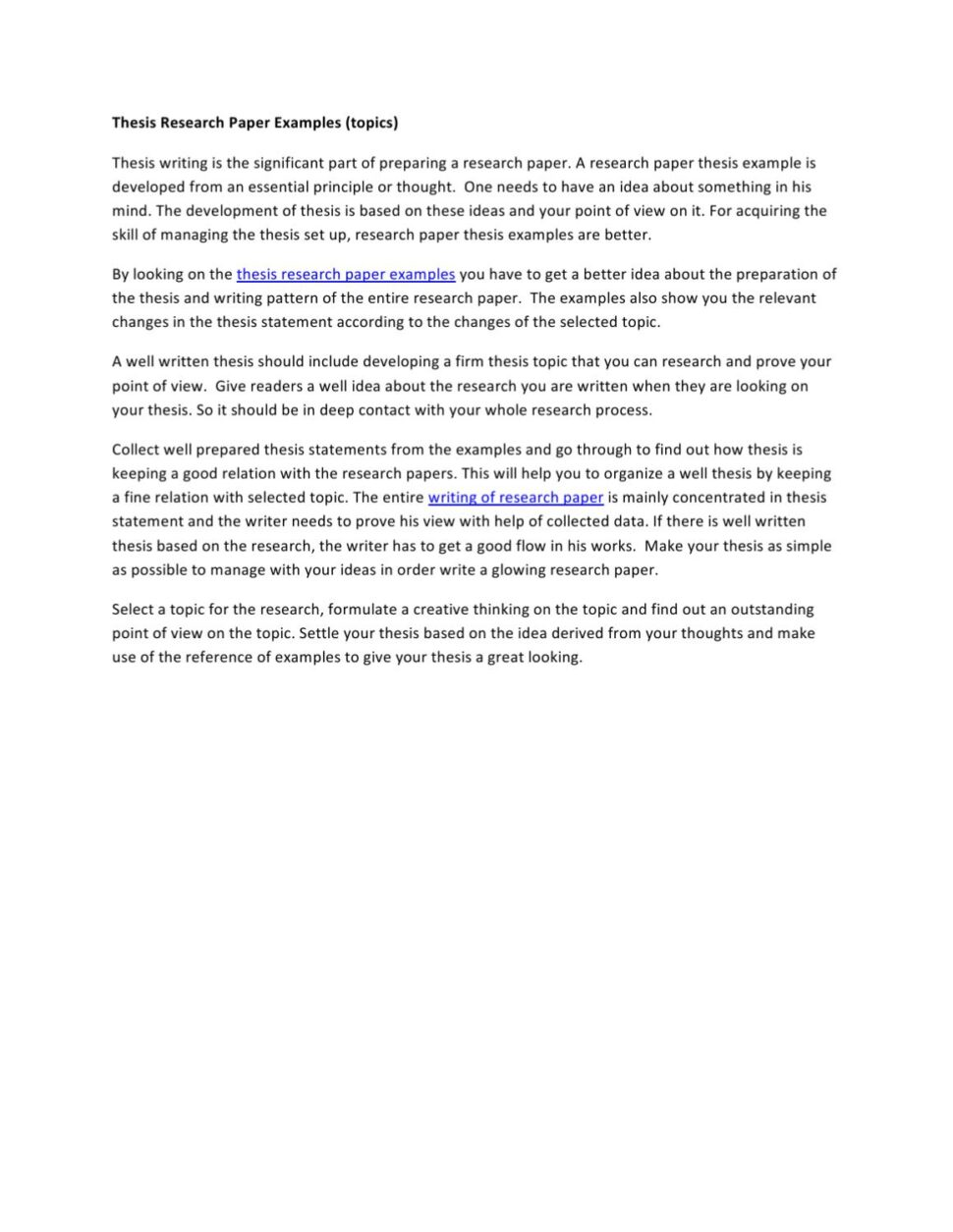 Large Size of Thesis Research Paper Examples By Mathew Stuart Issuu Example Essay Proofreader English