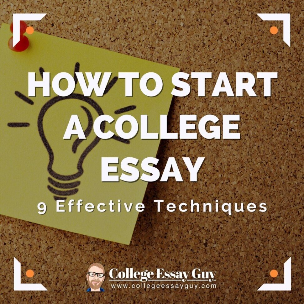 Large Size of To Start College Essay Effective Techniques Sentences An Abortion Should Illegal
