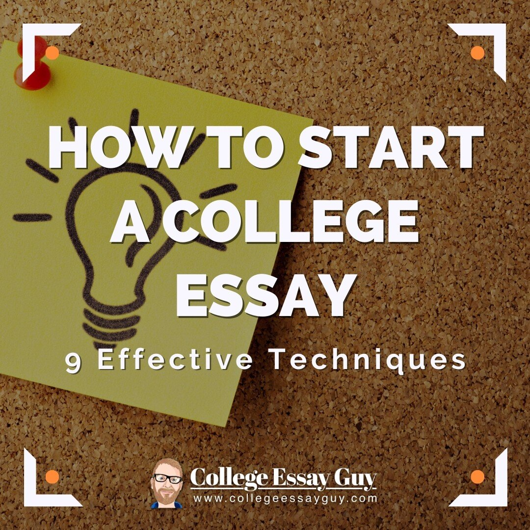 Full Size of To Start College Essay Effective Techniques Sentences An Abortion Should Illegal