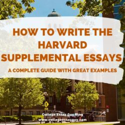 To Write The Harvard Supplemental Essay College Guy Essays English Academic Template Word 2021