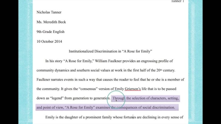 To Write Thesis Statement For Literary Analysis Essay Is In An Academic Rogerian Argument What A