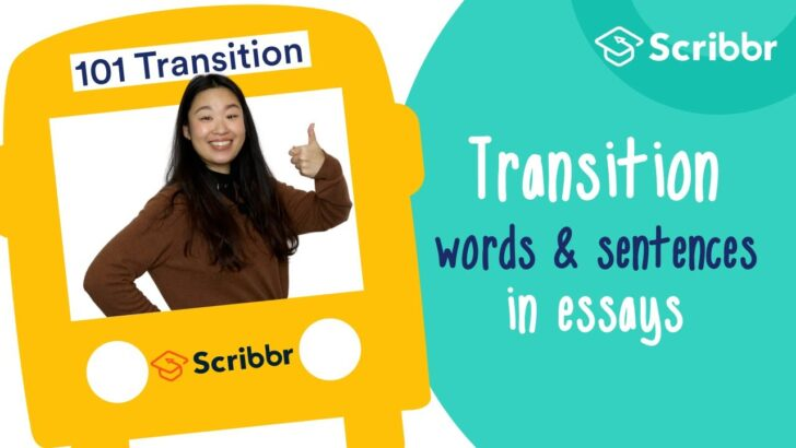 Transition Words Examples Lists Tips To Get Them Right Essay Spongebob Writing Process