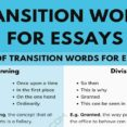 Thumbnail Size of Transition Words For Essays Great Useful Tips 7esl Essay Transitions Extended Narrative
