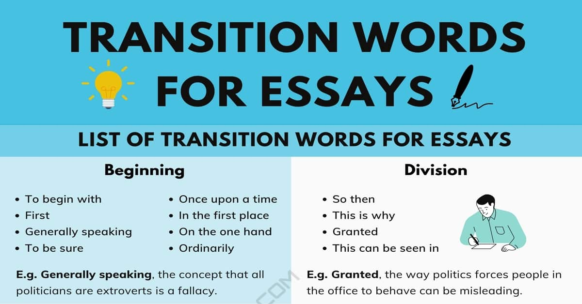 Full Size of Transition Words For Essays Great Useful Tips 7esl Essay Transitions Extended Narrative