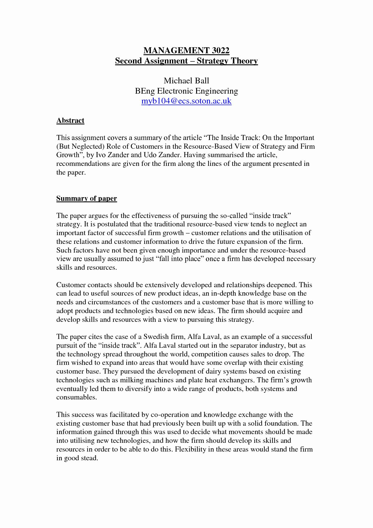 Full Size of Ut Recommendation Letter Elegant Example Summary Essay Writing Summaries Examples Of