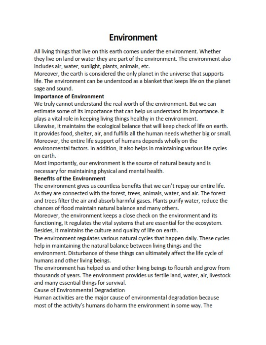 Full Size of Word Essay Writing Guide And Examples On Environment Citations In An Free Compare 500