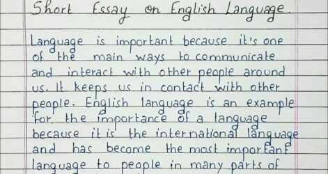 Write Short Essay On English Language Diversity My Paper Synthesis Hook Examples