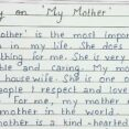 Thumbnail Size of Write Short Essay On My Mother English Comparative Compare Contrast Example Bullying