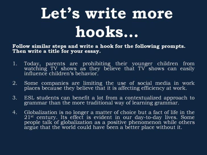 Medium Size of Writing Effective Hooks For Essays Hook In An Essay Let Write More My Classroom Cause And