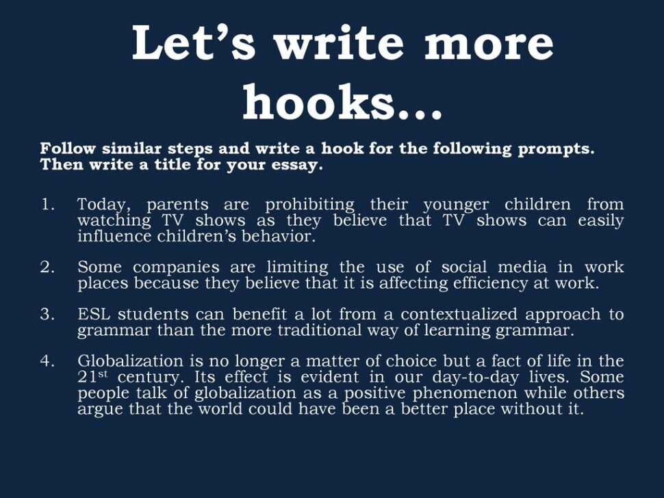 Large Size of Writing Effective Hooks For Essays Hook In An Essay Let Write More My Classroom Cause And