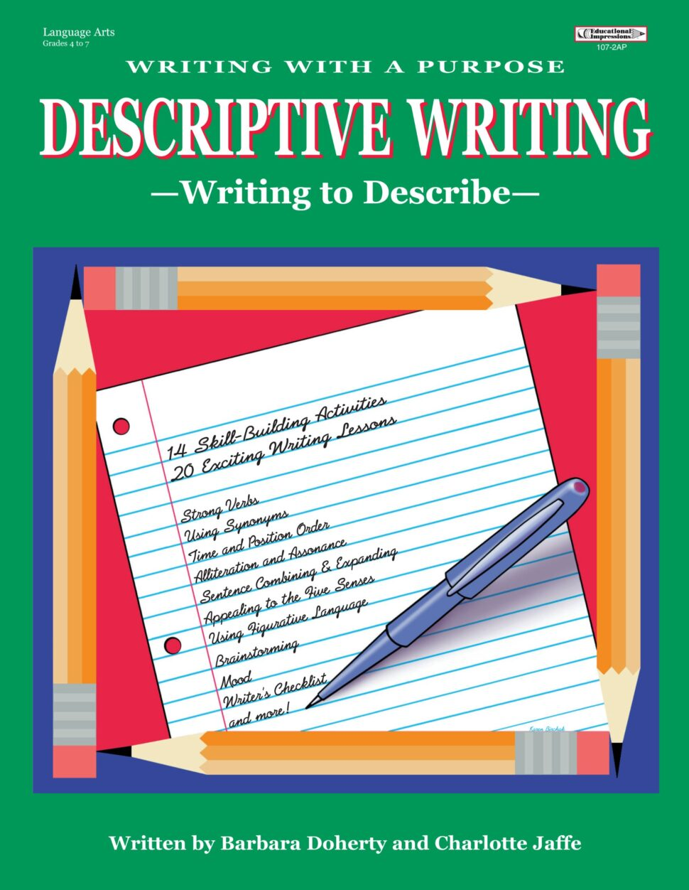 Large Size of Writing With Purpose Descriptive Jaffe Doherty Barbara Books 81bqe Md Zl Success Essay